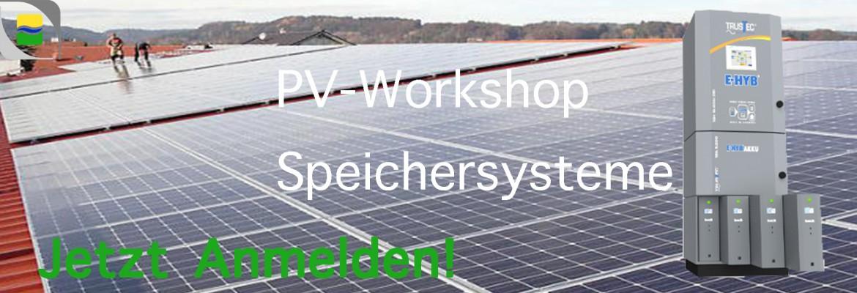 Workshop über PV-Speichersysteme mit Eigenbedarfsdeckung