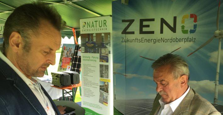 ZENO beim Elektro-Aktionstag 2018 in Kohlberg